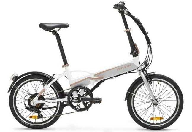 B'TWIN Tilt 500 Folding Electric Bike 2020