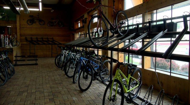 empty bike shops
