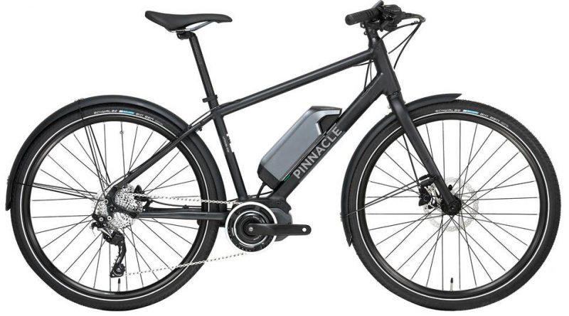 Pinnacle Lithium Ion Hybrid EBike - 2018. Electric hybrid bike.