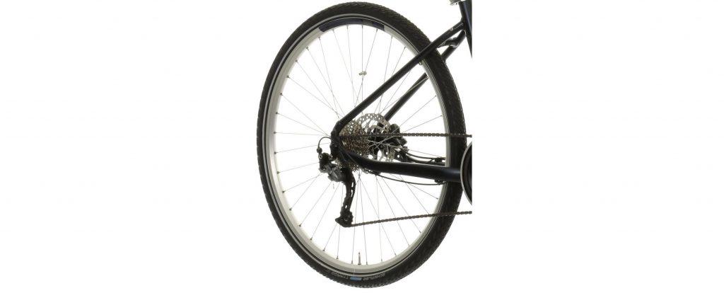 Carrera Crossfuse Womens Electric Hybrid Bike 2020 - Drive train