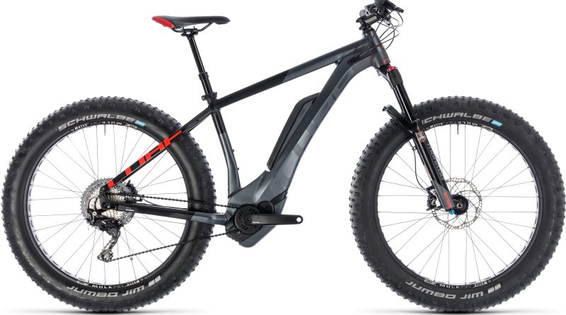 Cube Nutrail Hybrid 500 electric Mountain Bike - 2018