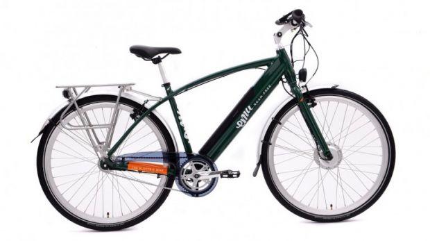 Emu Crossbar Hybrid City Electric Bike