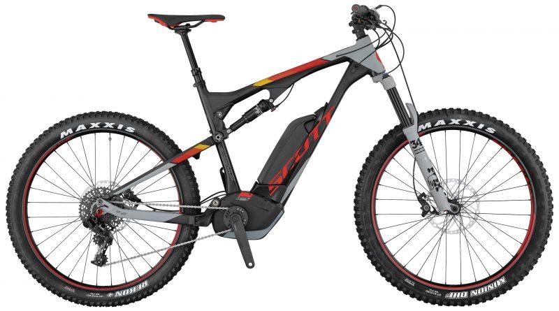 Scott E-Genius 720 Plus 2017 Electric Mountain Bike