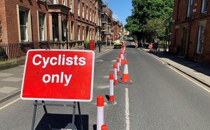 Popup Cycle Lane