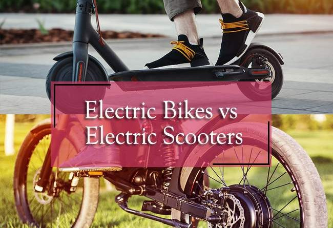 electric bike or electric scooter