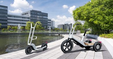 BMW electric bike and scooter