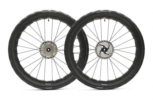 Carbon disc wheels. tooth & nail cycle wheels